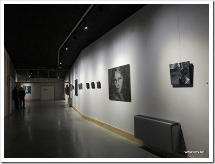 tentoonstelling Zwart Licht - An V. - locatie GC De Plak (foto 1)