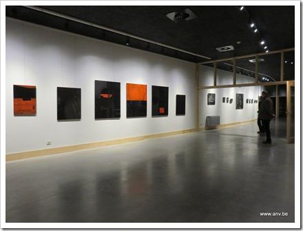tentoonstelling Zwart Licht - An V. - locatie GC De Plak (foto 2)