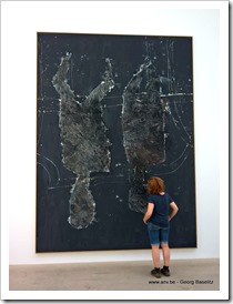 My favourite painting of Georg Baselitz in Galerie Ropac