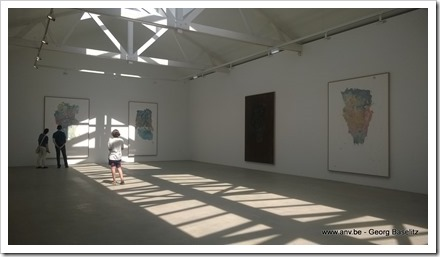 Georg Baseltiz in Galerie Ropac Paris Pantin