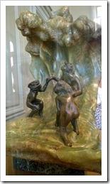 Camille Claudel - onyx en brons