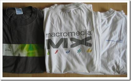 t-shirts Macromedia