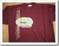 t-shirt PING
