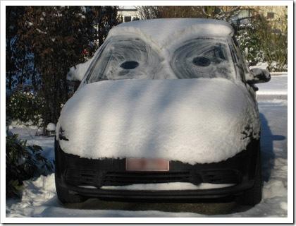 sneeuwauto