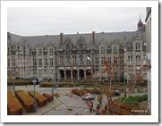 Prinsbisschoppelijk Paleis Luik, zijkant