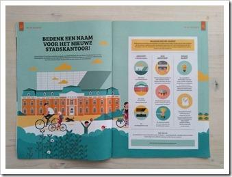 Oproep in stadsmagazine Hasselt