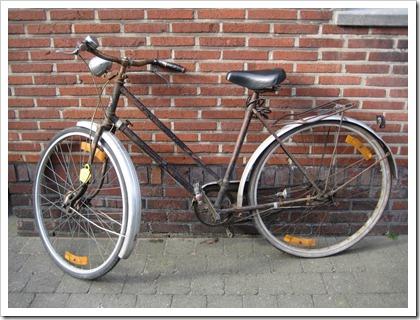 mijn oude fiets