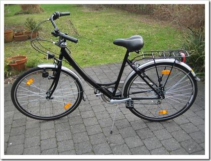 Ans nieuwe fiets
