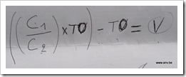 Dee's formula for me