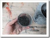 zwart - brokjes steenkool