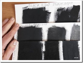 Zwart: Black2 versus steenkool - AnV