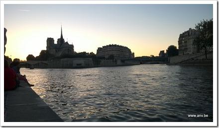 Valavond aan de Seine