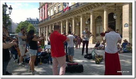 Strijkorkest aan la Comédie Française