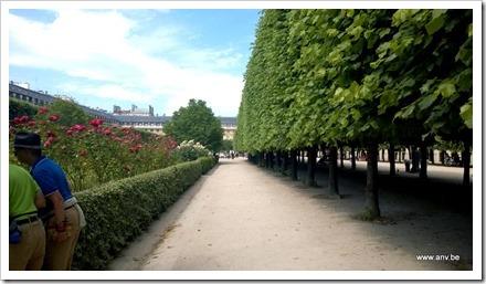 Palais Royale - tuin