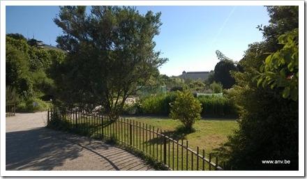 Jardin des Plantes ingang