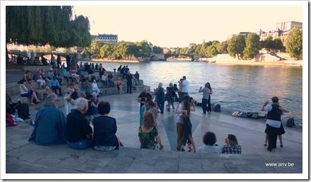 Dansen aan de Seine