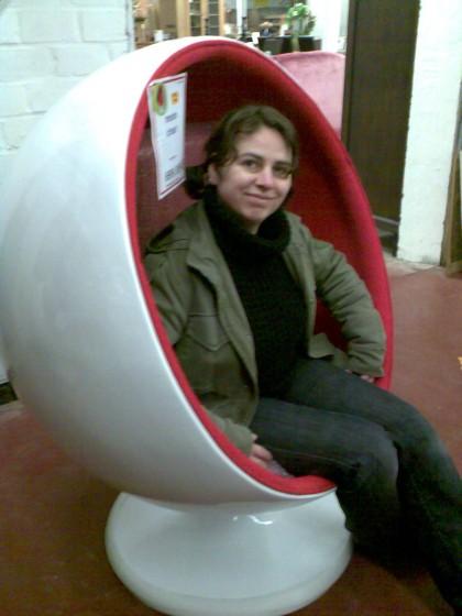 An in stoel ;-)