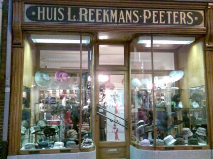 Oude hoedenwinkel Hasselt