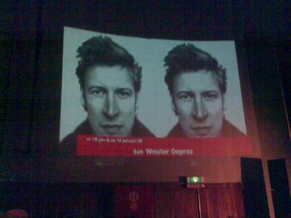 voorstelling Wouter Deprez