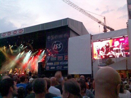 The Scabs op Suikerrock