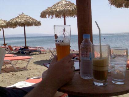 Agia Galini, strand
