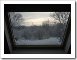 17 december - zicht uit mijn atelier