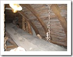 koolmijn Beringen - museum : nagebouwde pijler