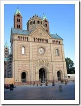 Speyer - Dom vooraanzicht