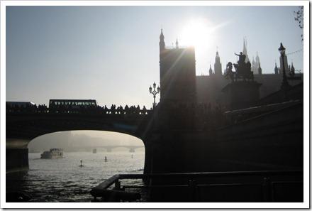 Londen, foto vanaf het water