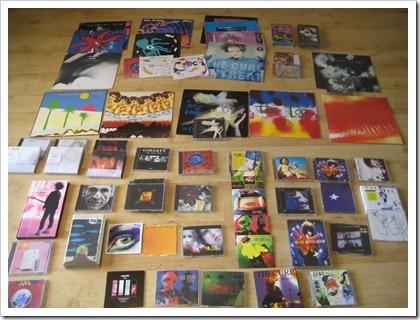 mijn Cure collectie, in 2009