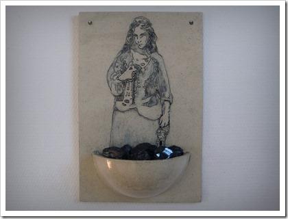 'St-Barbara's Opluchting', deel 1. Keramiek, steenkool. 2012