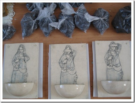 """stukje van de reeks """"St-Barbara's opluchting"""" (anv)"""