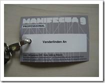 foto accreditatie kaartje Manifesta 9