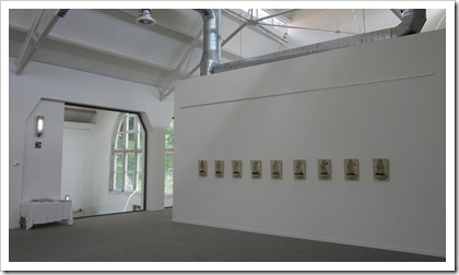 """""""St.-Barbara's opluchting"""" van AnV. op de tentoonstelling Mijn Verleden, Genk"""