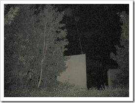 plaatsing geluidspanelen 's nachts