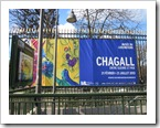 aankondiging Chagall tentoonstelling