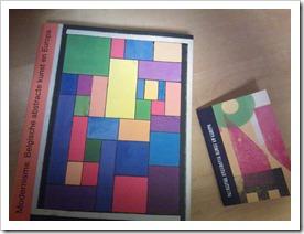 catalogus Modernisme en info boekje