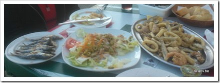 Chiringuito Sicsú, lekker eten