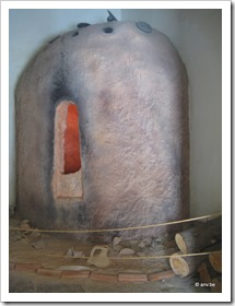 keramiekoven in Alcazaba
