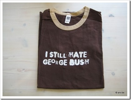 T-shirt I still hate George Bush