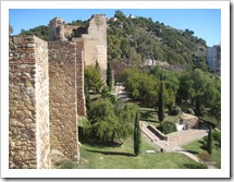 Tuin & muren Alcazaba