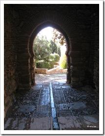 Water in Alcazaba