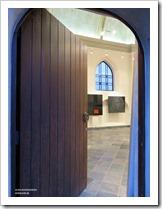 """foto 01 tentoonstelling """" St.-Barbara """" schilderijen en keramiek van An Vanderlinden"""