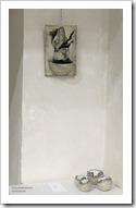 """04 tentoonstelling """" St.-Barbara """" schilderijen en keramiek van An Vanderlinden"""