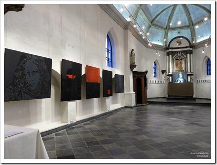 """05 tentoonstelling """" St.-Barbara """" schilderijen en keramiek van An Vanderlinden"""