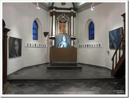 """13 tentoonstelling """" St.-Barbara """" schilderijen en keramiek van An Vanderlinden"""