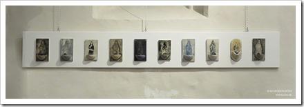 """15 tentoonstelling """" St.-Barbara """" schilderijen en keramiek van An Vanderlinden"""
