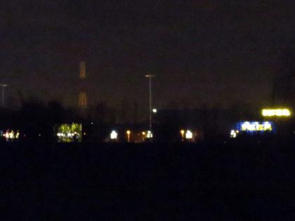Ikea Hasselt by night, vanuit de slaapkamer