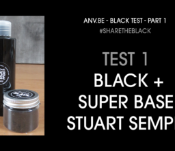 Video 1: Zwartste zwart – test deel 1 – #ShareTheBlack