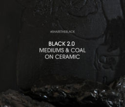 Video: BLACK 2.0, mediums and coal on ceramic
